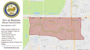 Map Of Houston Texas Curfew Lifted For City Of Houston Except For Flooded West