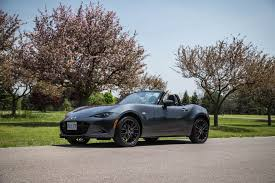 girly sports cars review 2016 mazda mx 5 gs sport package canadian auto review