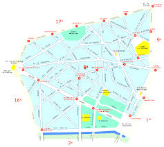 Paris France Map by Street Maps Of Paris France Also Map Paris Neighborhoods And