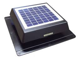 solar attic vent fan solar attic fan ebay