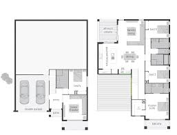the bayview split level floor plan by mcdonald jones