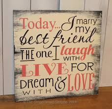 best friend quotes on wedding day personalised to my best