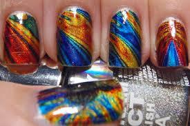 mandelbrot set inspired tattoo nail art more nail polish