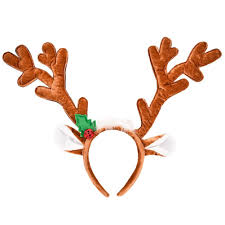 reindeer antlers headband womens soft reindeer antlers headband christmas costume