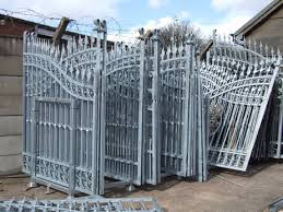 iron gates for entrance for iron fence