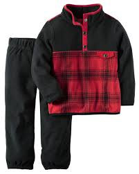 2 piece fleece pullover pant set boys babies clothes and babies