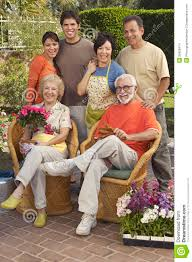 happy family garden happy family in garden stock images image 29658414