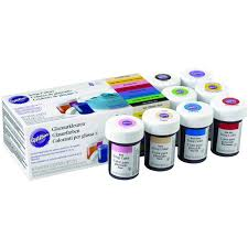 wilton icing colours kit 8 pack hobbycraft