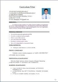Resume Examples Word Doc Sample Resumes In Word Sample Cv Template Hr Recruitment