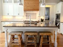 Unfinished Wood Kitchen Island Bar Stools Luxury Black White Kitchen Island With Traditional