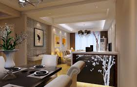 kitchen dining and living room design 2 of contemporary l shaped