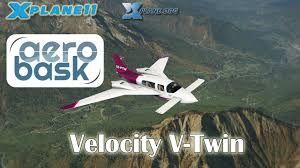 aerobask velocity v twin for x plane 11 youtube