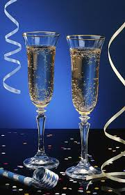 new years chagne glasses celebrate new year s at sterling caterer s surf turf dinner