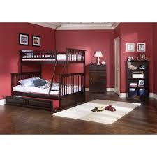 Bunk Beds With Trundle Atlantic Furniture Ab5523 Columbia Twin Over Full Bunk Bed With