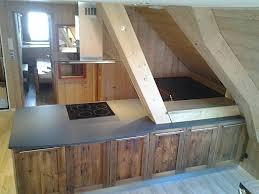 cuisine vieux bois cuisines cuisine vieux bois fabriquer une cuisine en bois
