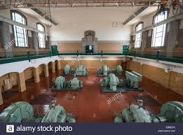 the turbine pump room in the art deco styled r c harris water
