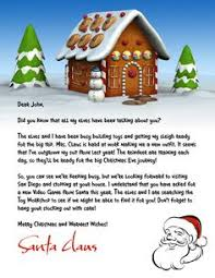 santa letters to print at home snowy santa christmas pinterest