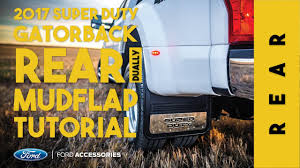 Ford F350 Truck Accessories - 2017 ford super duty dually rear install tutorial no voice youtube