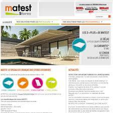 Toiles Pour Stores Bannes Faire Réaliser Sur Mesure Un Store Banne De Terrasse