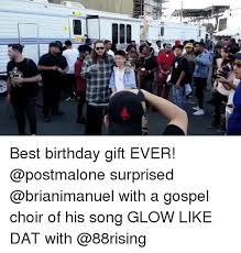 Birthday Gift Meme - best birthday gift ever surprised with a gospel choir of his song
