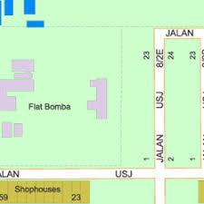 map usj 23 map of caliphs kindergarten usj 14 47600