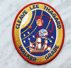 vintage sts 30 nasa space shuttle mission 1989 patch badge
