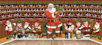 christmas scene setters xmas scenes funkyparty com
