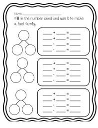 number fact families number bonds and fact families practice by marissa lindenthaler tpt
