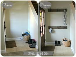of dwelling and dress entryway progress