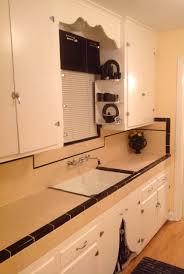 1930s kitchen i did a nice job restoring the original 1939 tile