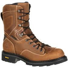 s boots comfort comfort waterproof low heel logger work boot gb00122