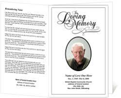 funeral memorial programs funeral programs funeral handouts programs for funerals
