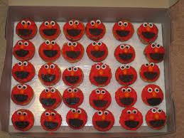 elmo cupcakes sugarcube bakery gallery