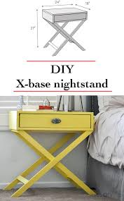 How To Build An Affordable Home Best 20 Diy Nightstand Ideas On Pinterest Crate Nightstand
