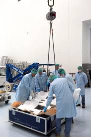 Sharpe Interior Systems Materials International Space Station Experiment Misse Arrival