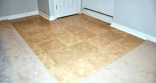 basement carpet in basement image of tiles brown design subfloor