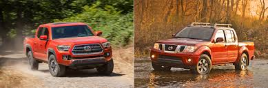 nissan frontier interior head to head 2016 toyota tacoma trd off road vs 2016 nissan