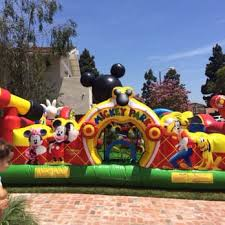 mickey mouse clubhouse bounce house tata rentals 112 photos 14 reviews party event planning