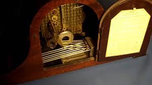 Antique Mantel Clocks Value Antique Herschede Canterbury Chime Mantel Clock Youtube