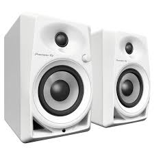 compact home theater system pioneer dm 40 w compact active monitor speakers with 4