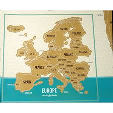 Norway World Map by Snagshout Scratch Off World Map Travel Tracker