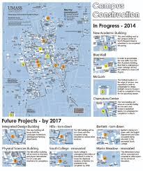 Colleges In Massachusetts Map by Umass Construction To Continue Through 2017 The Massachusetts