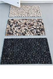 how to make a diy pebble bath mat door mats doors and craft Zen Bath Mat