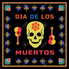 dia de los muertos day of the dead sugar skull flower