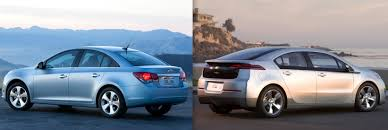 nissan leaf vs chevy volt could a chevrolet volt cost less to own than a chevrolet cruze