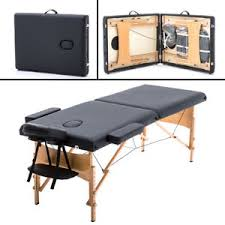 used portable massage table for sale bestmassage 2 pad 84 black massage table free carry case bed spa