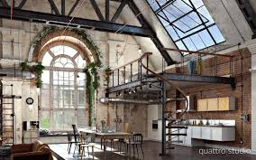 3 Stylish Industrial Inspired Loft Take A Look At This Stunning Industrial Loft