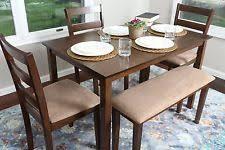 walnut breakfast bar table bar table ebay