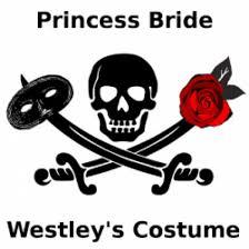 Dread Pirate Roberts Halloween Costume Piece Westley Costume Princess Bride