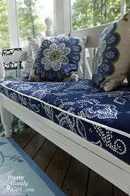 Make Cushions For Patio Furniture 3 Excellent Tutorials On How To Make Box Cushions Outdoor